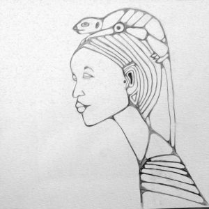 Ten-Minute Sketch Meerkat Hat 2017 - Wendy Campbell