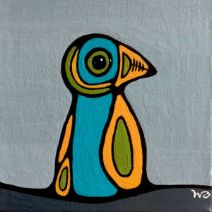 Puffin - Mini © Wendy Campbell