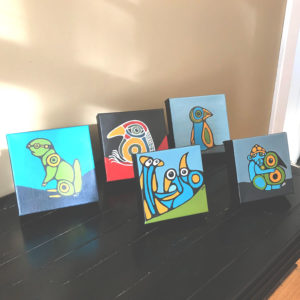 Minis - tabletop art © Wendy Campbell