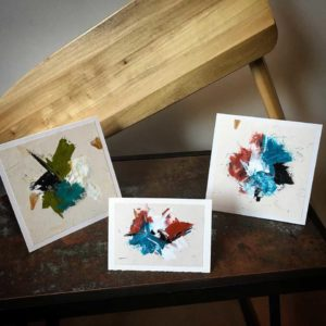 Hand Painted Greeting Cards-Algonquin series - Wendy-Campbell