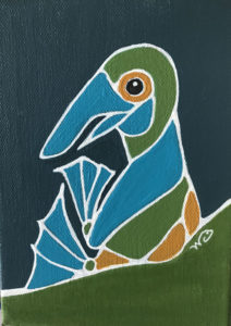 Blue Footed Booby - Wendy Campbell