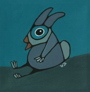 Funny Bunny © Wendy Campbell 2019