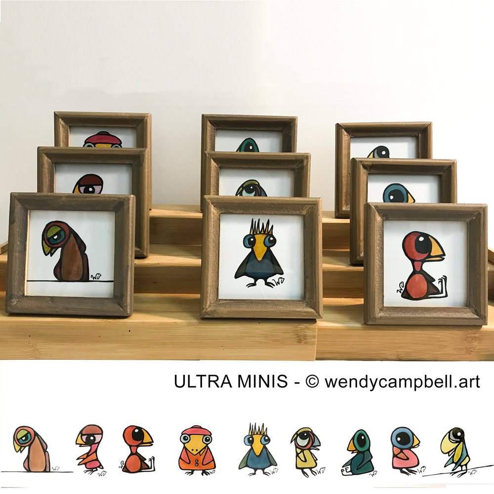 Ultra-Minis-framed © Wendy Campbell 2019