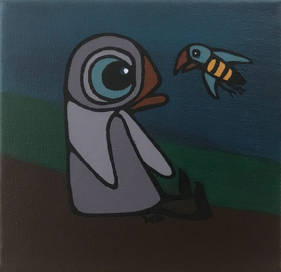 The Bird and the Bee © Wendy Campbell 2019